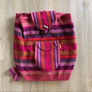 EUC Woven Backpack